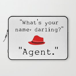 What's your name, darling? Laptop Sleeve