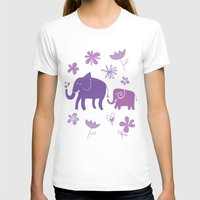 elephants T-shirts featuring Elephants by grrrenadine