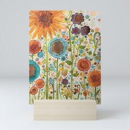Florets Mini Art Print