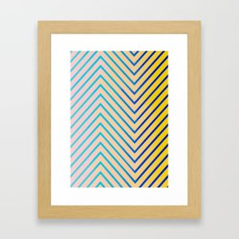 Billie - Everything Is Abstract  Framed Art Print