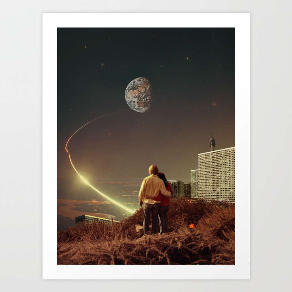 We Used To Live There, Too Art Print by Frankmoth
