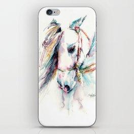 Fantasy white horse iPhone Skin
