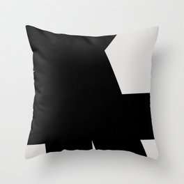 Abstract Form 03 Throw Pillow