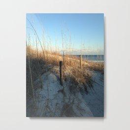 Shady dunes Metal Print
