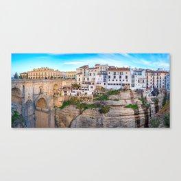 Ronda, Spain Panorama Canvas Print