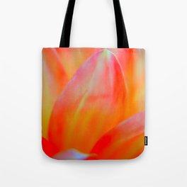 Dreamy Orange Petals Tote Bag