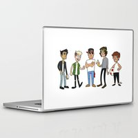 1d Laptop & iPad Skins featuring 1D Animated by pygmy
