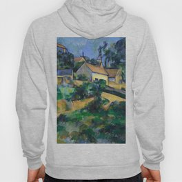 1898 - Paul Cezanne - Turning Road at Montgeroult Hoody