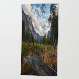 In the Valley. Beach Towel