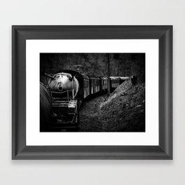 Spooky Train Framed Art Print