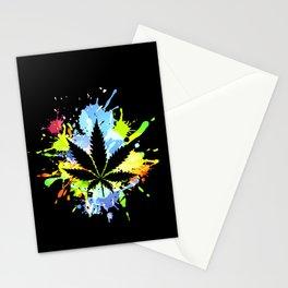 marijuana  canabis Stationery Cards