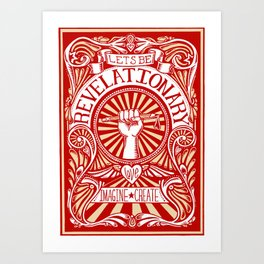 Revelationary Art Print