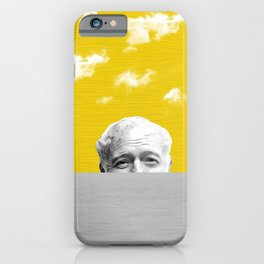 Ernest Hemingway | Old man and the Sea | Digital Collage Art iPhone Case