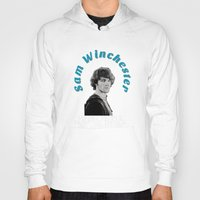 sam winchester Hoodies featuring Family Business - Sam Winchester by Fandom GoodieZ