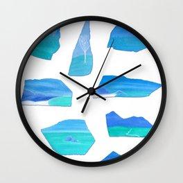 Journey in Shambhala / Voyage en Shamballa Wall Clock