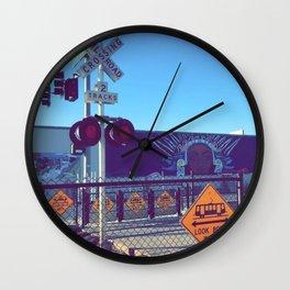 At a Crossroads Wall Clock