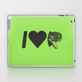 I Love Dinosaurs Laptop & iPad Skin