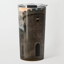 Clifden Castle at the sunset Travel Mug