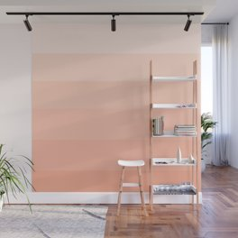 Soft Pastel Peach Hues - Color Therapy Wall Mural