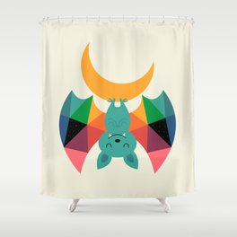Moon Child Shower Curtain