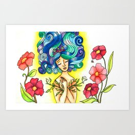 Leaf Lover Art Print