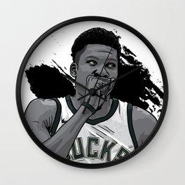 Giannis Wall Clock
