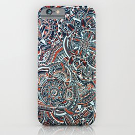 Tiger Mandala iPhone Case