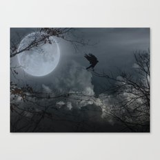 There's A Moon Out Tonight Canvas Print