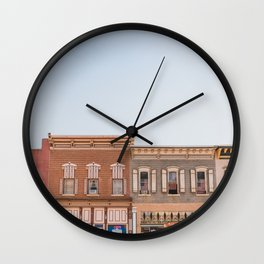 Deadwood South Dakota Wall Clock