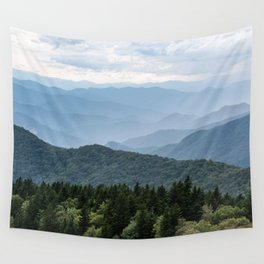 Smoky Mountain National Park -  Summer Adventure Wall Tapestry