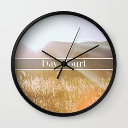 Day Court Wall Clock