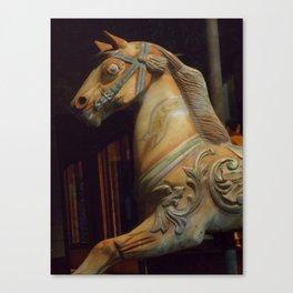 The Dark Horse Mourns Canvas Print