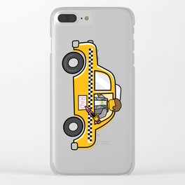 Taxi Writer Clear iPhone Case