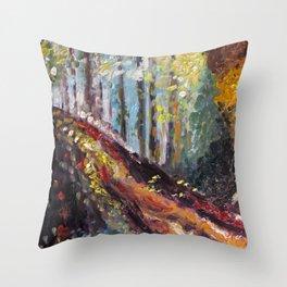 Hocking Hills Throw Pillow