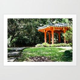 Asian Path Art Print