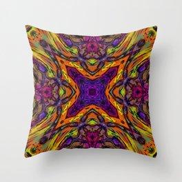 Crazy XXX Throw Pillow