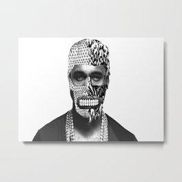 FaceOFF series -YE! Metal Print