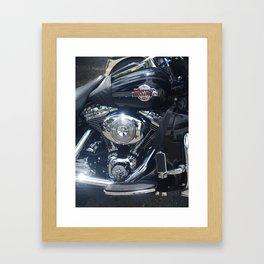 Harley Electra-Glide Framed Art Print
