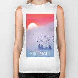 Vietnam fishing poster, Biker Tank