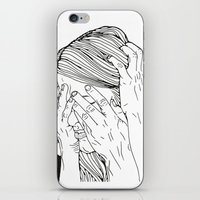 introvert iPhone & iPod Skins featuring Introvert 1 by Heidi Banford