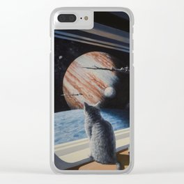 Ship's Cat Clear iPhone Case