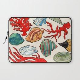 Sea Life Watercolor Laptop Sleeve