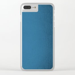 Saltwater Taffy Teal Shimmer Clear iPhone Case