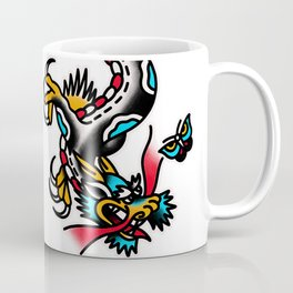 American traditional dragon Coffee Mug