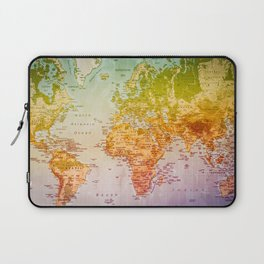 Colorful World Laptop Sleeve