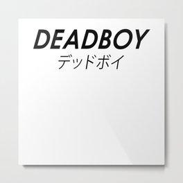 DEADBOY Metal Print
