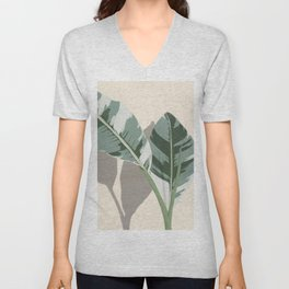 Banana Leaves Unisex V-Neck