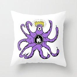 Knocktopus Throw Pillow