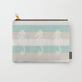 3 seahorses Carry-All Pouch