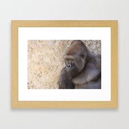 Wandering Eyes Framed Art Print